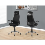 Monarch I 7268 Office Chair Black Mesh