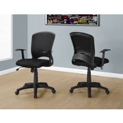 Monarch I 7265 Office Chair Black Mesh