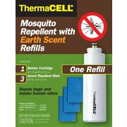 ThermaCELL Mosquito Repellent Earth Scent Refill Pack for Appliances and Lanterns
