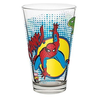 Marvel Comics Juice Glass - Spider-Man & Hulk 2464864