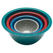 Confetti Recycled Plastic Mixing Bowl Set - Urban