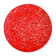 Confetti Recycled Plastic Salad Plate - Red