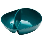 Moso Dishwasher-Safe Bamboo Divided Bowl - Peacock