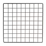 "Econoco GS14/B, 14""L x 14""W Epoxy Coated Grid Cubbies, 48/Pack"