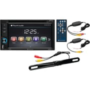 "6.2"" Double-DIN In-Dash Touchscreen DVD Receiver with Bluetooth® & Back-up Camera"