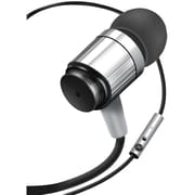 GOgroove GGAORNF100SVEW AudiOHM® RNF Earbuds with Microphone (Silver)