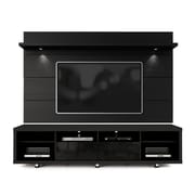 Manhattan Comfort  Cabrini 2.2 TV Stand and Panel  MDF TV Stand and TV Panel  in Black Gloss and Black Matte (2-1531382353)