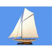 Handcrafted Model Ships Columbia 80 In. Decorative Sail Boat (Hdfm1859)