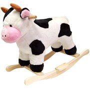 Poker Cow Plush Rocking Animal (Poker5055)