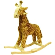 Happy Trails Giraffe Plush Rocking Animal (Tc80-86Giraffe)