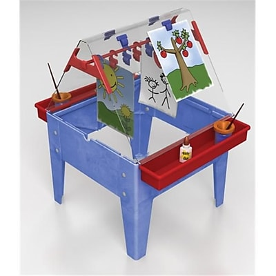 Manta Ray Toddler Basic Easel - Blue Frame (Mntr002) 2487732