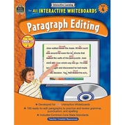 Teacher Created Resources Interactive Learning: Paragraph Editing Grade 4 (Tccr1009)