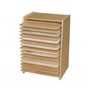 Wood Designs Mobile Drying And Storage Rack (Wdd854)
