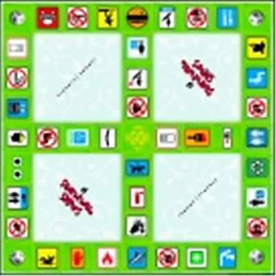 Pci Educational Publishing Pro-Ed Survival Signs Game - Indoor Symbols (Sspc58799)