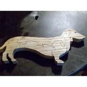 Fine Crafts Wooden Dachsund Jigsaw Puzzle (Fncrf126)