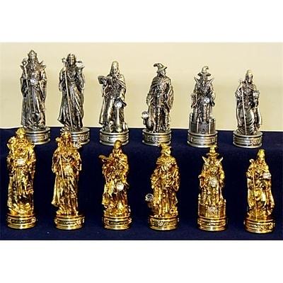 Royal Chess Pewter Fantasy Men - Chessmen Pewter (Wwi2004) 2488086