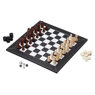Mainstreet Classic Mainstreet Classics - Chess Checkers Backgammon (Gldp433) 2488397