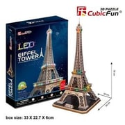 Primo Tech 3D Puzzle - Led Eiffel Tower (Prmtc209)