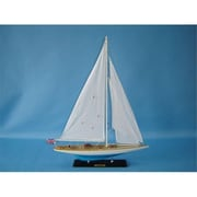 Handcrafted Model Ships Sovereign 27 In. Limited Decorative Sail Boat (Hdfm2096)