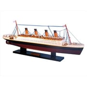 Handcrafted Model Ships Rms Titanic Limited 20 In. Decorative Cruise Ship (Hdfm2225)