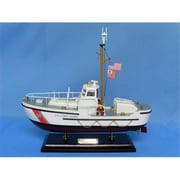 Handcrafted Model Ships Uscg 44 Foot Motor Lifeboat 16 In. Coast Guard Decorative Accent (Hdfm2199)