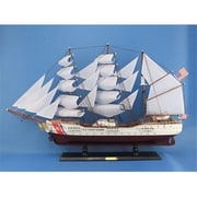 Handcrafted Model Ships Uscg Eagle 32 In. Decorative Tall Model Ship (Hdfm1880)