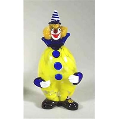 """""Belco 9-1/2"""""""" Murano Glass Clown (Blc022)"""""" 2489103"