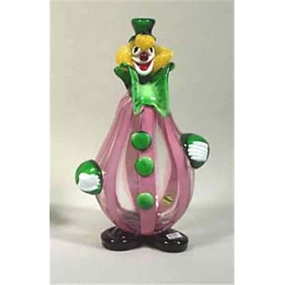 """""Belco 11"""""""" Murano Glass Clown (Blc019)"""""" 2489111"