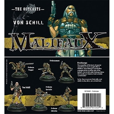 Wyrd Miniatures 20502 Outcasts Freikorps Box Set M2E (Acdd13323) 2489077