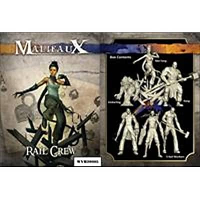 Wyrd Miniatures 20305 Arcanists Rail Crew Box Set M2E (Acdd13283) 2489067