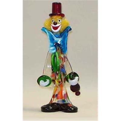 """""Belco 11"""""""" Murano Glass Clown (Blc012)"""""" 2489109"