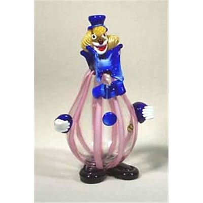"""""Belco 11"""""""" Murano Glass Clown (Blc018)"""""" 2489125"