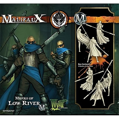Wyrd Miniatures 20707 Ten Thunders Monk Of Low River - 3 (Acdd13357) 2489080