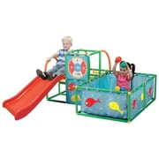 National Sporting Goods Active Play Gym Set - Red Or Green Multiple (Nsgc019)
