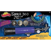 Poof-Slinky Scientific Explorer Sirius 360 Telescope With 180X Magnification And Tripod Kit (Poof291)