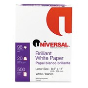 Universal Copy/Laser Paper 98 Brightness 20Lb Letter Bright White 5 000 Sheets/Carton (Azrunv95200)
