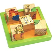 Chh Wooden 9 Pieces Block Puzzle (Chhg054)