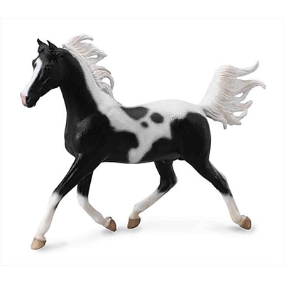 Collecta Half Arabian Pinto Stallion 1:12 Scale Model Horse - Pack Of 2 (Iqon309) 2490694
