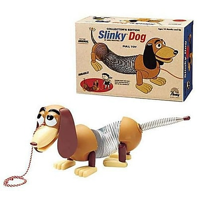 Poof Slinky Collectors Edition Original Slinky Dog In Retro Packaging (Bb-Sgym-102) 2489914