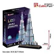 Primo Tech 3D Puzzle - Led Burj Khalifa (Prmtc210)