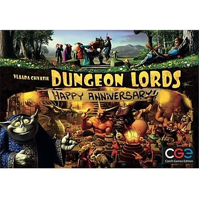 Czech Games Edition Inc 00029 Dungeon Lords - Happy Anniversary (Acdd14523) 2487834