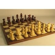 Ww Chess Sheesham French On Walnut Board (Wwi469)