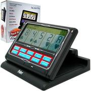 Portable Video Poker Touch-Screen 7 In 1 - Black & White (Poker11249)