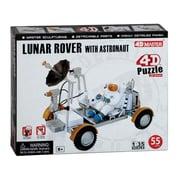4D Puzzles Lunar Rover With Astronaut 4D Puzzle 55 Pieces 1-35 (Daron9408)