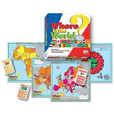 Talicor Where In The World Board Game (Tal2032) 2488487