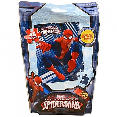 Spider - Man Marvel Ultimate Spider - Man Puzzle - 48 Pieces - Resealable Bag (Kmsh2988) 2488053