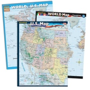 QuickStudy World & U.S. Reference Set (2498003)