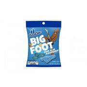ALLAN BIG FOOT Sour Blue Raspberry Gummy Candy, 5 oz, 12 Count