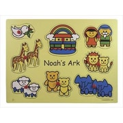 Swanson Christian Supply Puzzle Noahs Ark Animals Wooden (ANCRD40402)