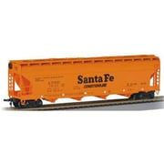 56 ft. Center Flow Hopper Santa Fe ATSF 101411 HO- 17502 (SPWS6076)